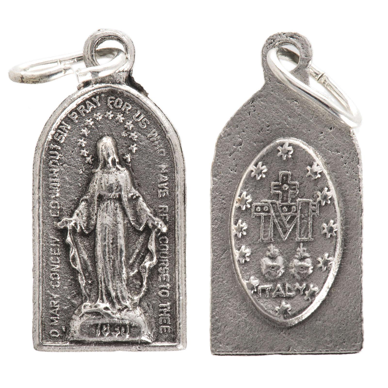 Médaille Miraculeuse métal oxydé 4