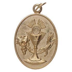 Medalla metal Recuerdo Primera Comunión s1