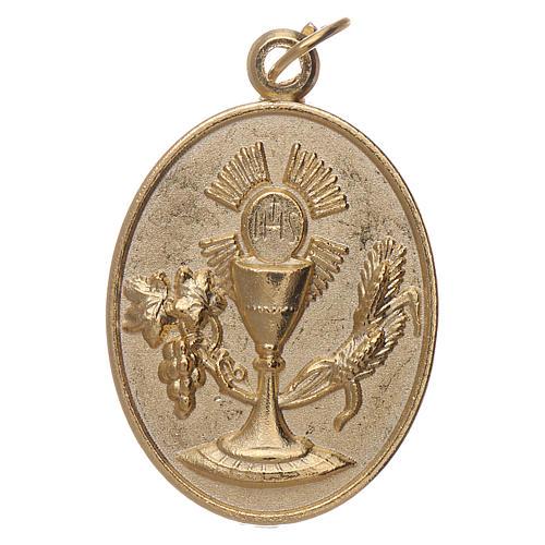 Medalla metal Recuerdo Primera Comunión 1