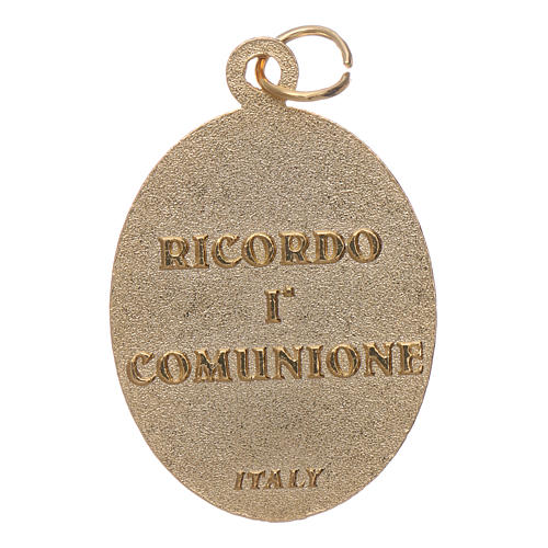 Medal in metal for First Communion 2