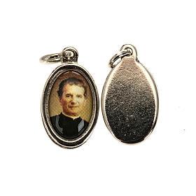 Médaille Don Bosco métal nickelé 1.5 cm s1