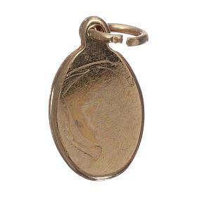 Médaille Sacré Coeur de Jésus dorée s2