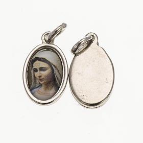 Médaille tête Vierge de Medjugorje 1,5x1 cm s1
