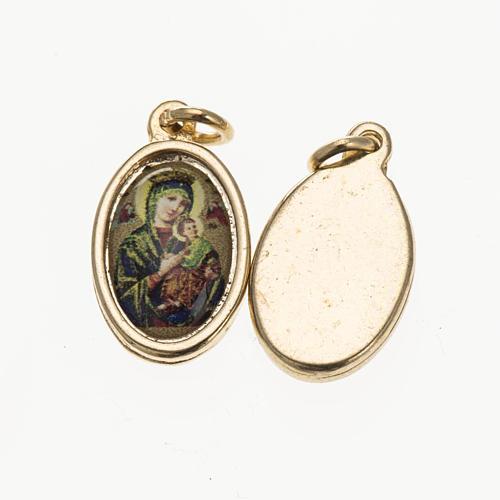 Médaille Notre Dame du Perpétue Secours doré 1