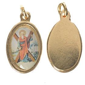 Medals: Saint Andrew medal in golden metal, 1.5cm