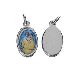Medals: Notre Dame de Grâce medal in silver metal, 1.5cm