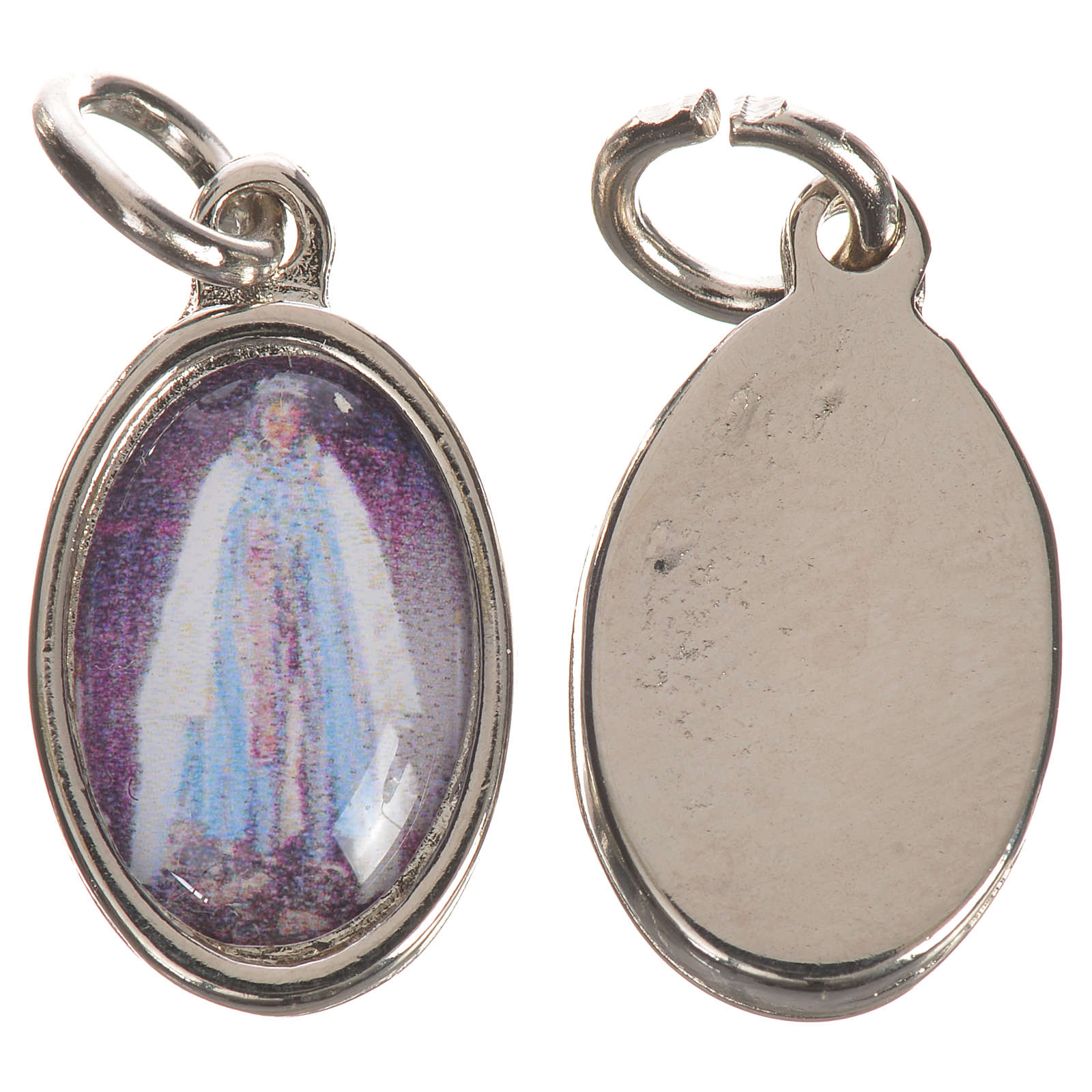 Medalla Santa Sara plateada 1,5 cm 4