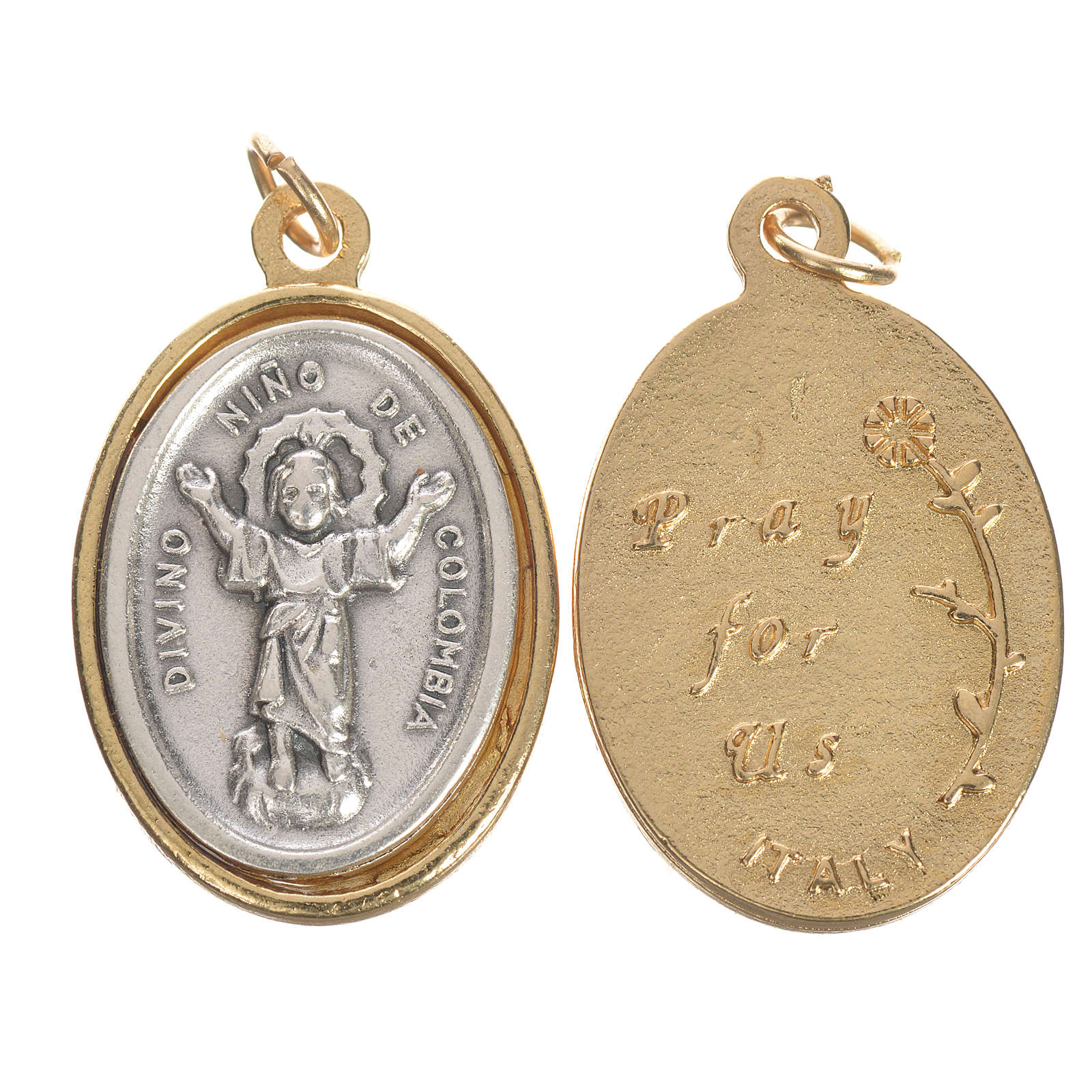 Medal with Divino Niño, Colombia 2.5cm 4