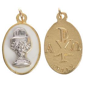 Medaglia Calice metallo smalto 2,2 cm s1