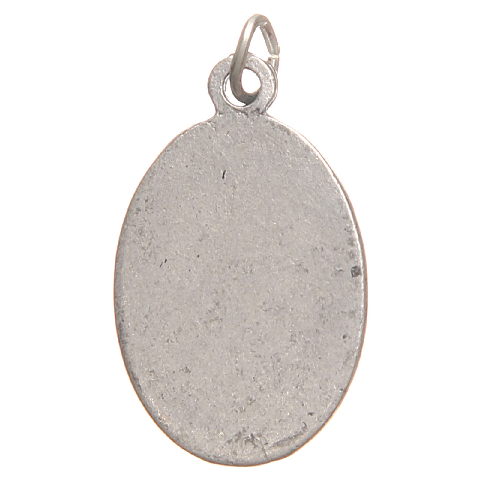 Medalla Santa Faustina galvánica plata antigua plata 2,1 cm 4