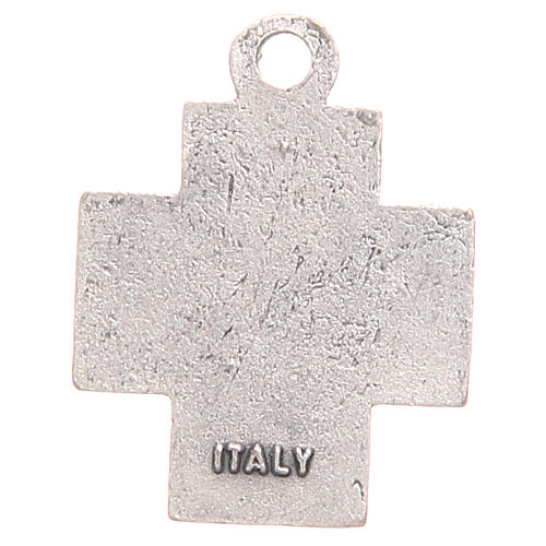 Medalla Cruz símbolo PAX 2