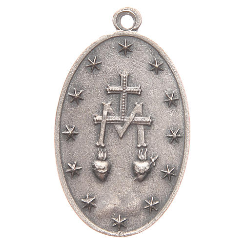 Miraculous Medal measuring 3.2cm 2