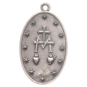 Medalla Virgen Milagrosa 3,2 cm s2