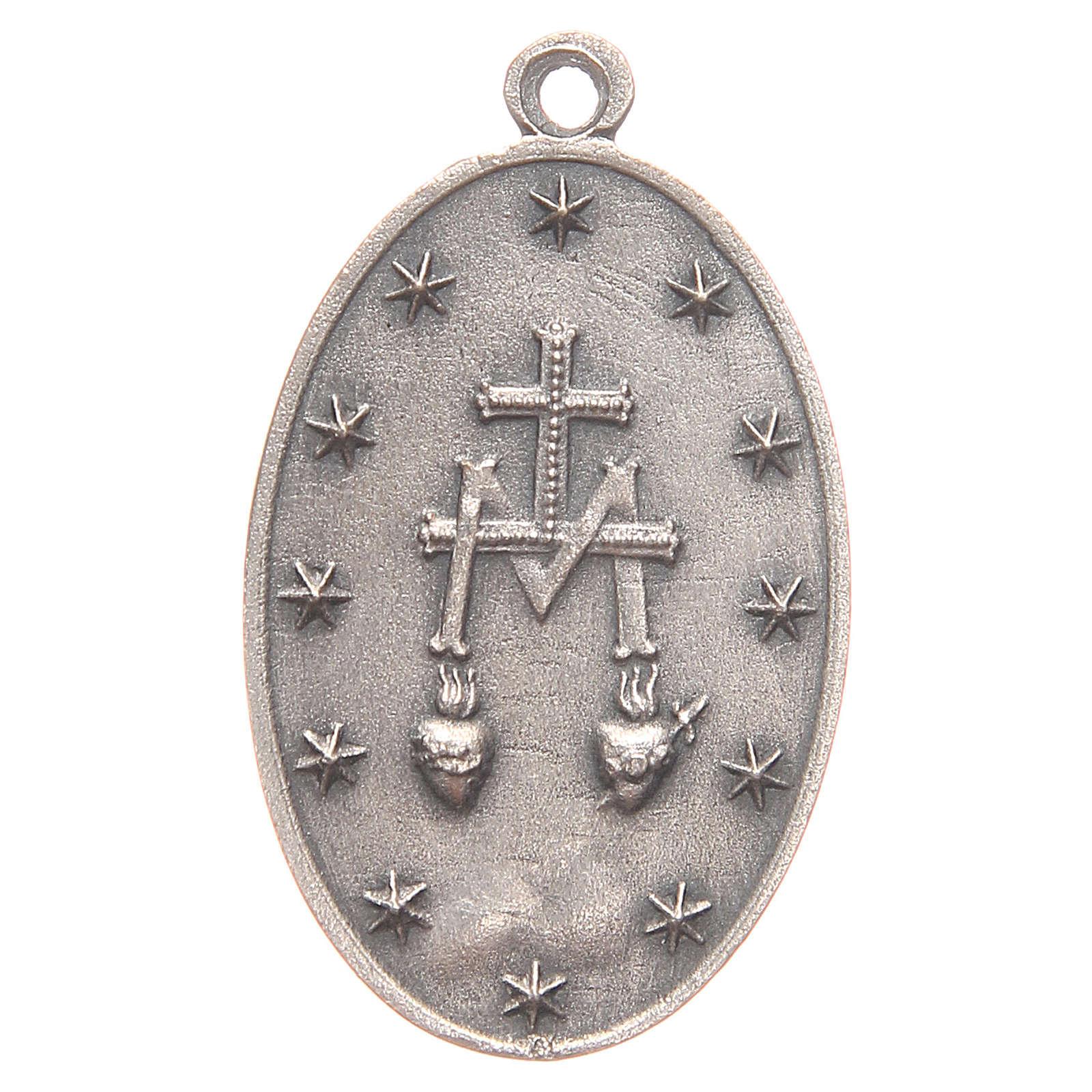 Medaglia Madonna Miracolosa 3,2 cm 4