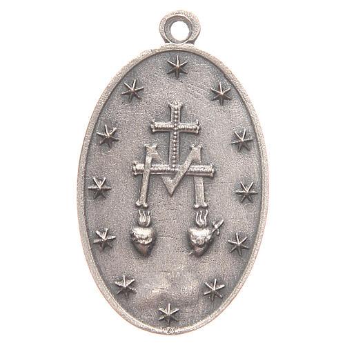 Medaglia Madonna Miracolosa 3,2 cm 2