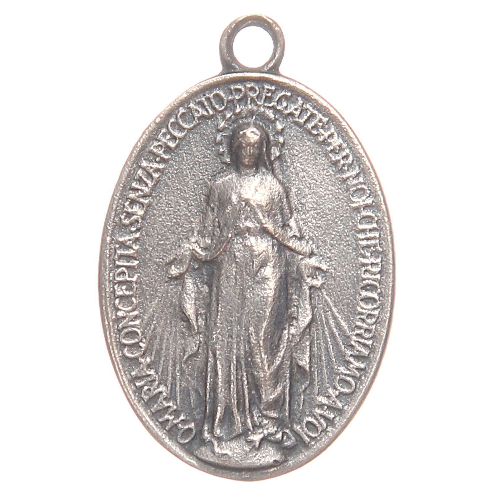 Miraculous Medal measuring 2cm 4