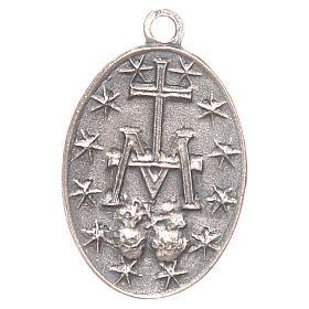 Medalla Virgen Milagrosa 2 cm s2