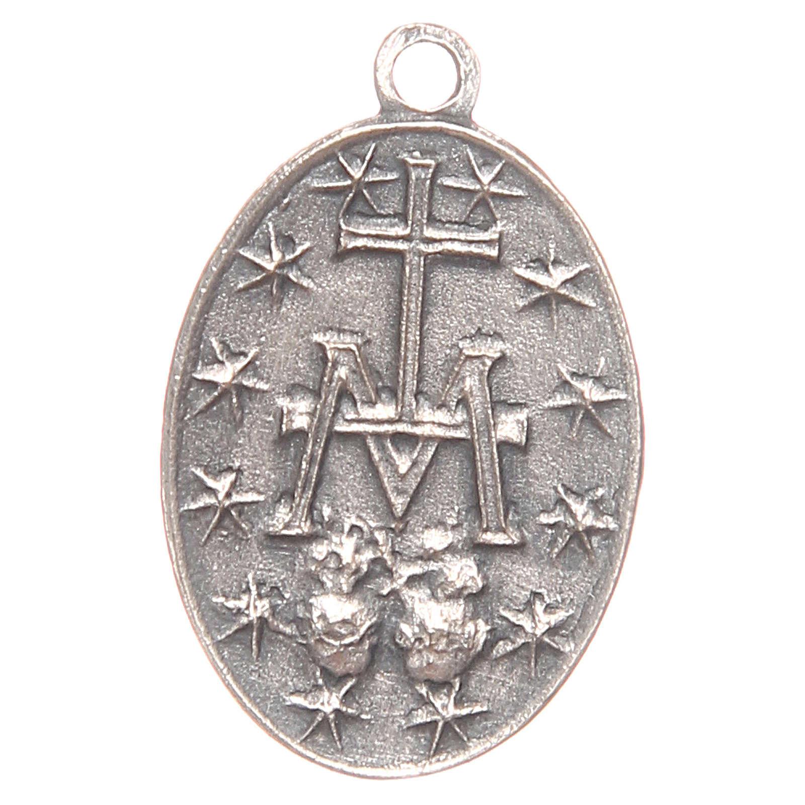 Medaglia Madonna Miracolosa 2 cm 4