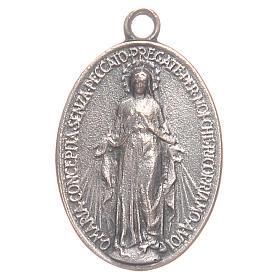 Medaglia Madonna Miracolosa 2 cm s1