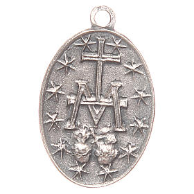 Medaglia Madonna Miracolosa 2 cm s2