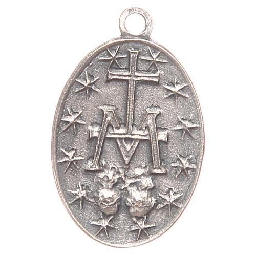 Medaglia Madonna Miracolosa 2 cm 2