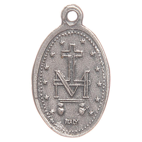 Miraculous Medal measuring 1.9cm 2