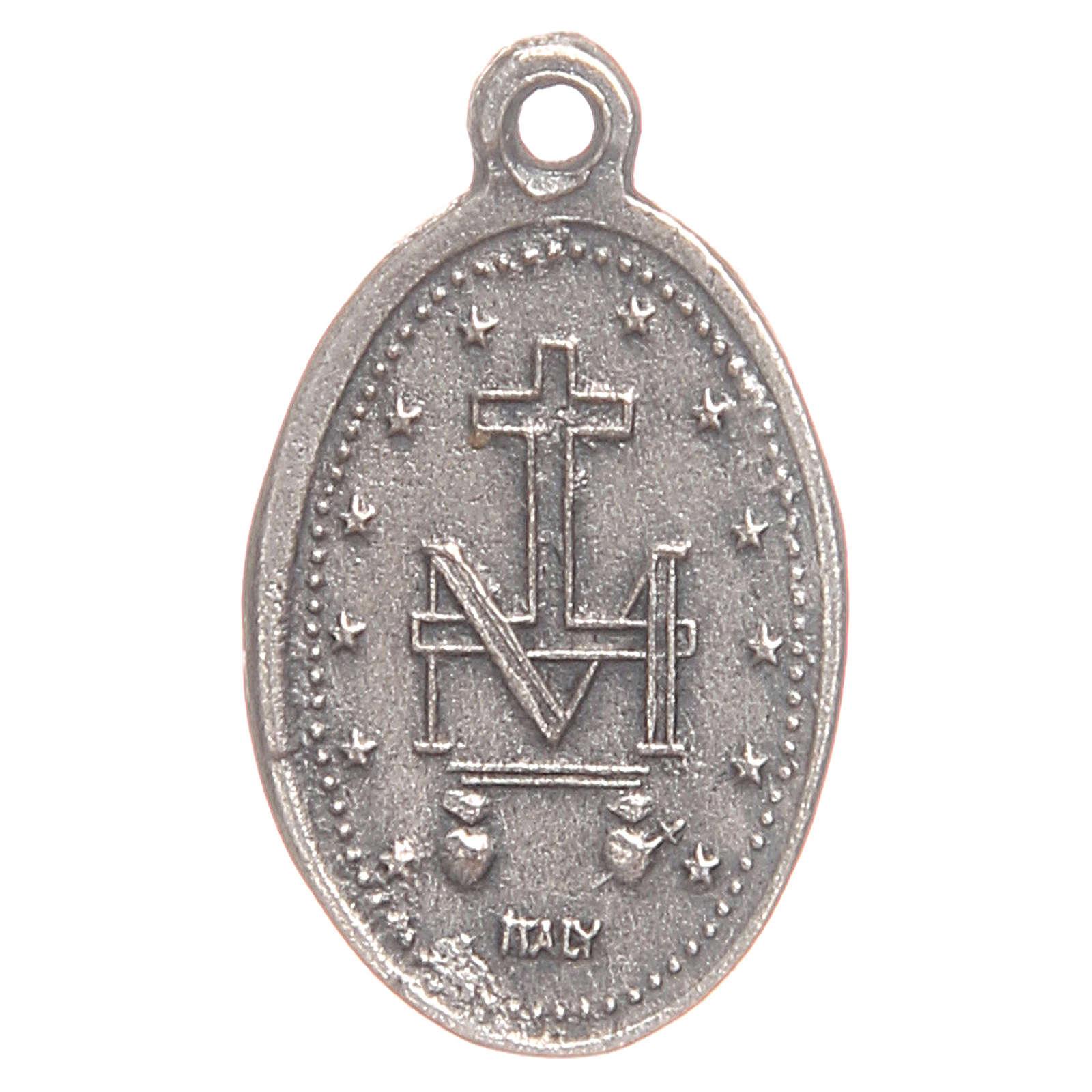 Medaglia Madonna Miracolosa 1,9 cm 4
