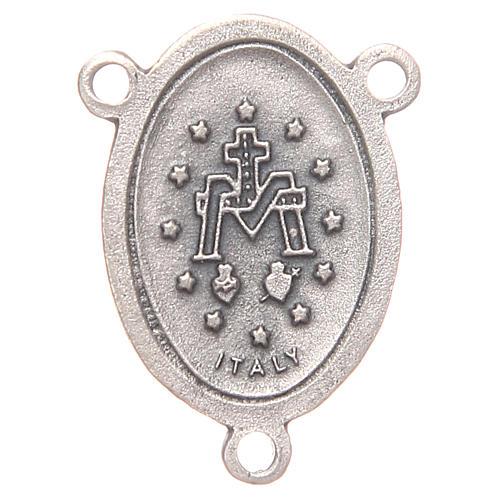 Crociera ovale Madonna Miracolosa 2,4 cm 2