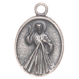 Medal with Pope Francis an Merciful Jesus s2