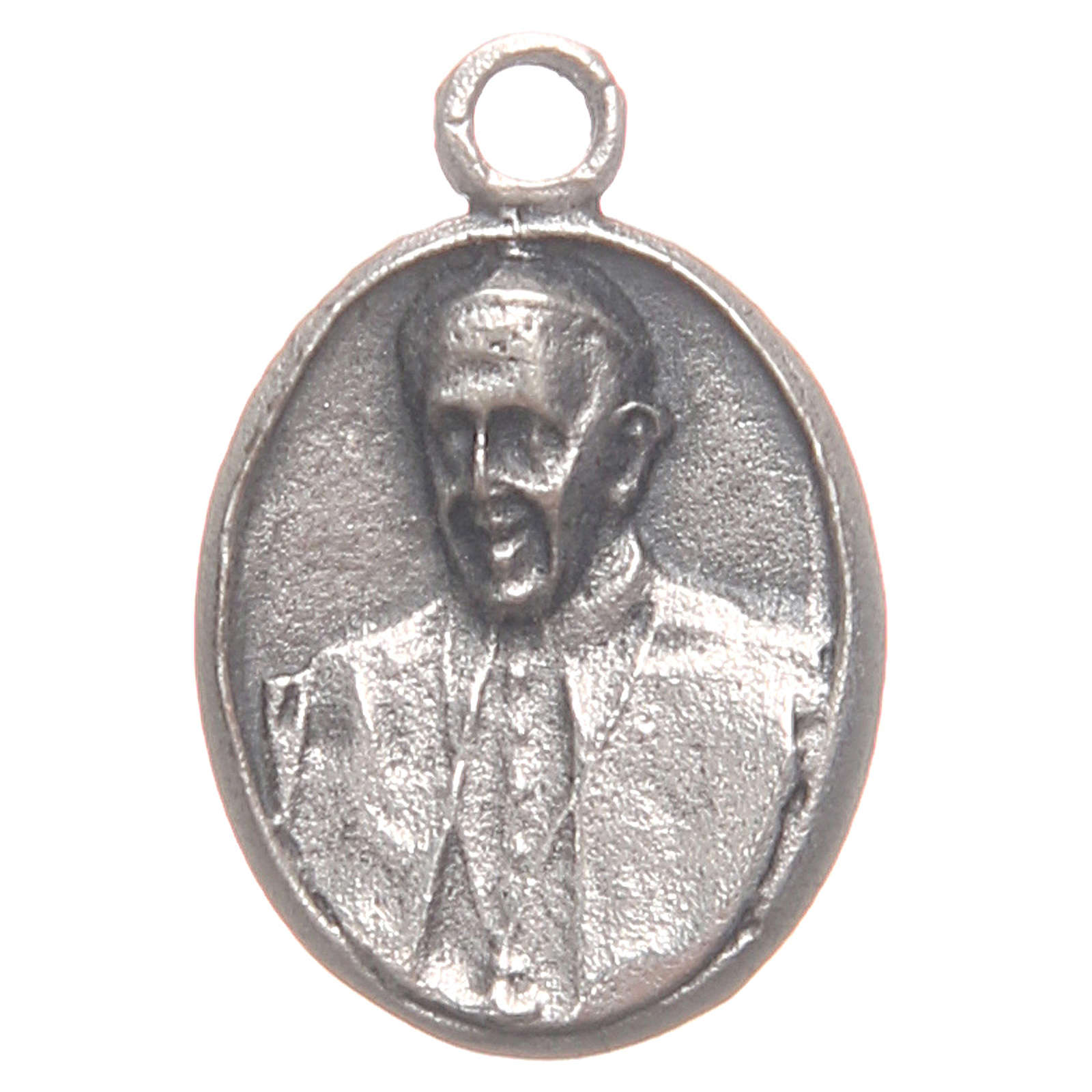 Medal with Pope Francis an Merciful Jesus 4