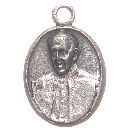 Medal with Pope Francis an Merciful Jesus 1