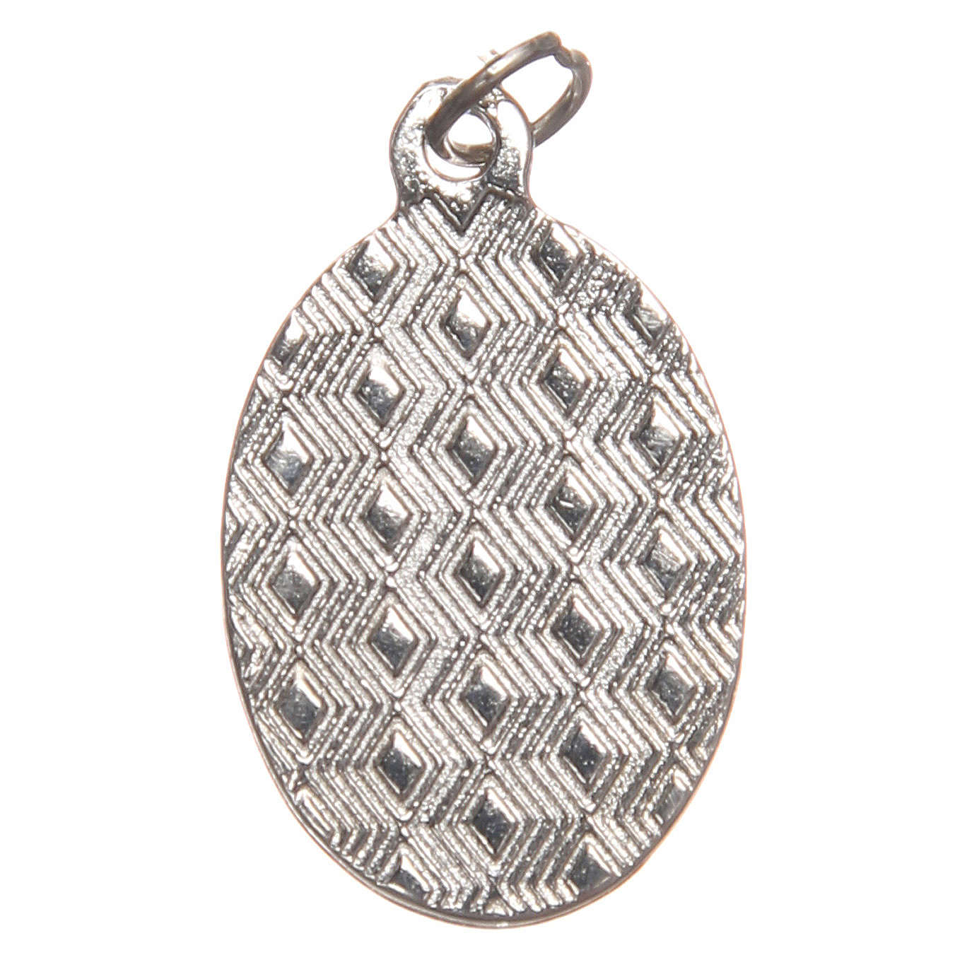 STOCK Medalla Última Cena metal niquelado resina cm 2,5 4