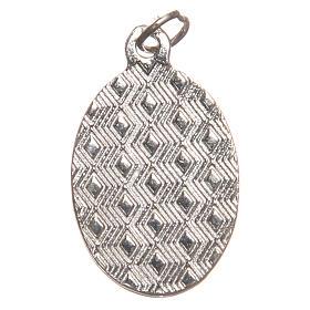 STOCK Medalha Última Ceia metal niquelado resina 2,5 cm s2