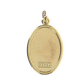 Medalla Dorada con imagen Resinada Medalla Milagrosa s2
