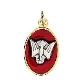 Medalla dorada símbolo Confirmación 2 cm s1