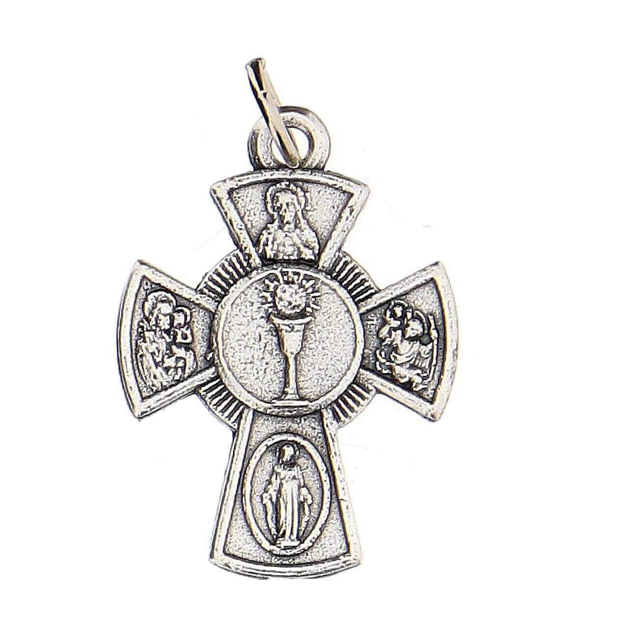 Medalla cruz metal Comunión 2 cm 4