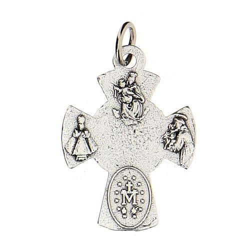 Medalla cruz metal Comunión 2 cm 2