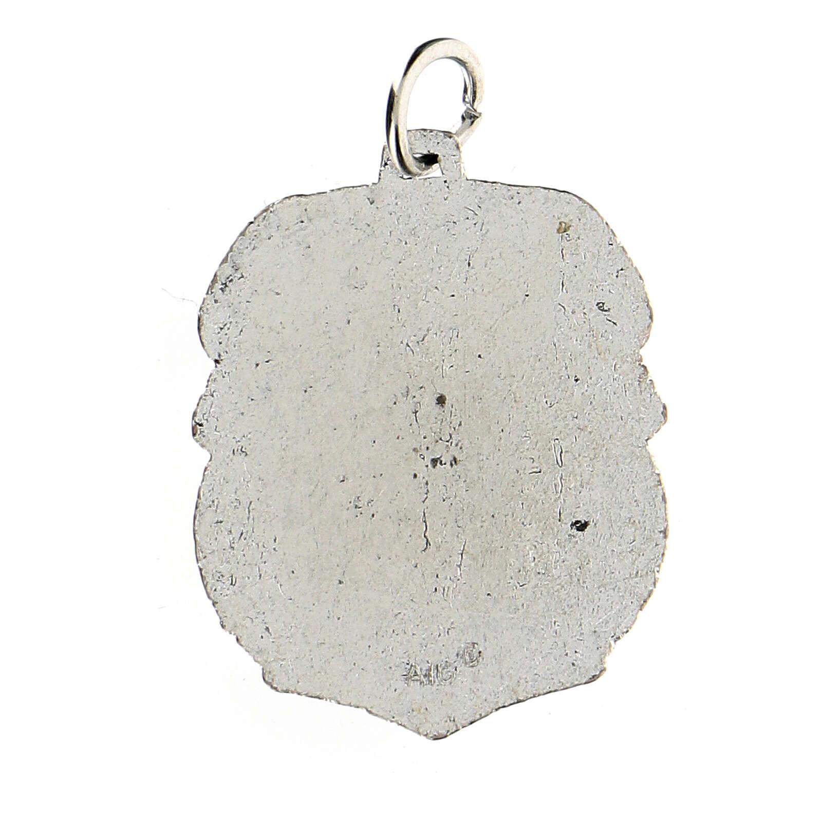 Medalla devocional Virgen de Guadalupe 3,5 cm 4
