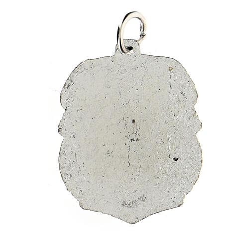Medalla devocional Virgen de Guadalupe 3,5 cm 2