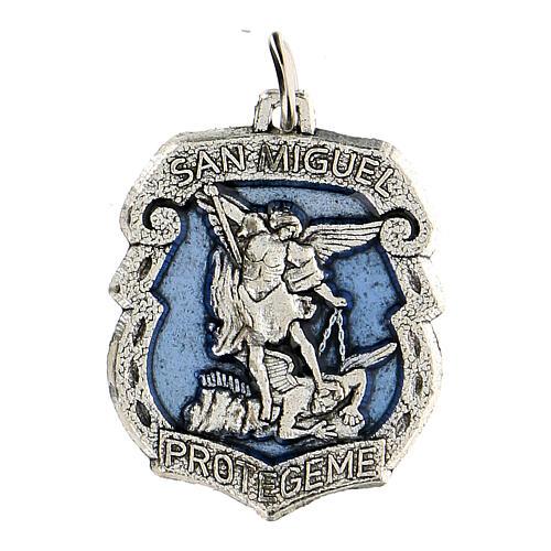 Medalla devocional San Miguel 3,5 cm 1