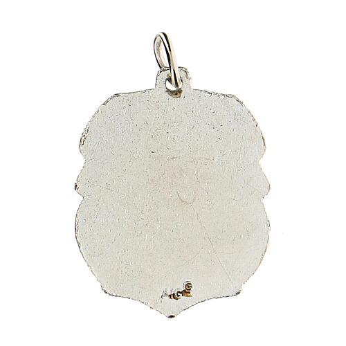 Medalla devocional San Miguel 3,5 cm 2