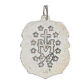 Medaglia devozionale Madonna Miracolosa 3,5 cm INGLESE s2