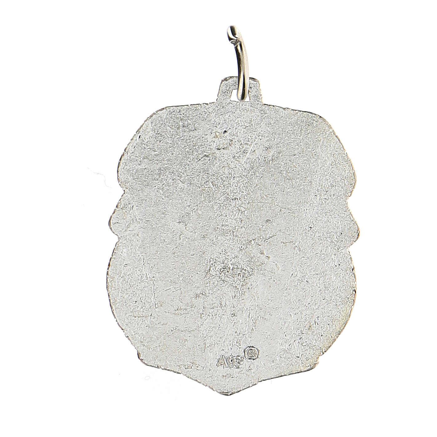Medalla devocional San Cristóbal 3,5 cm 4
