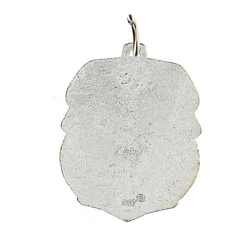 Medalla devocional San Cristóbal 3,5 cm 2