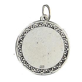 Medalla Oración Ave María en INGLÉS 3 cm s2