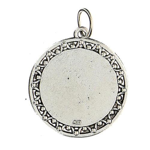Medalla Oración Ave María en INGLÉS 3 cm 2