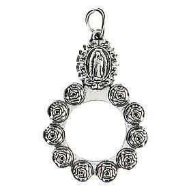 Ciondolo Madonna Guadalupe 3 cm s1