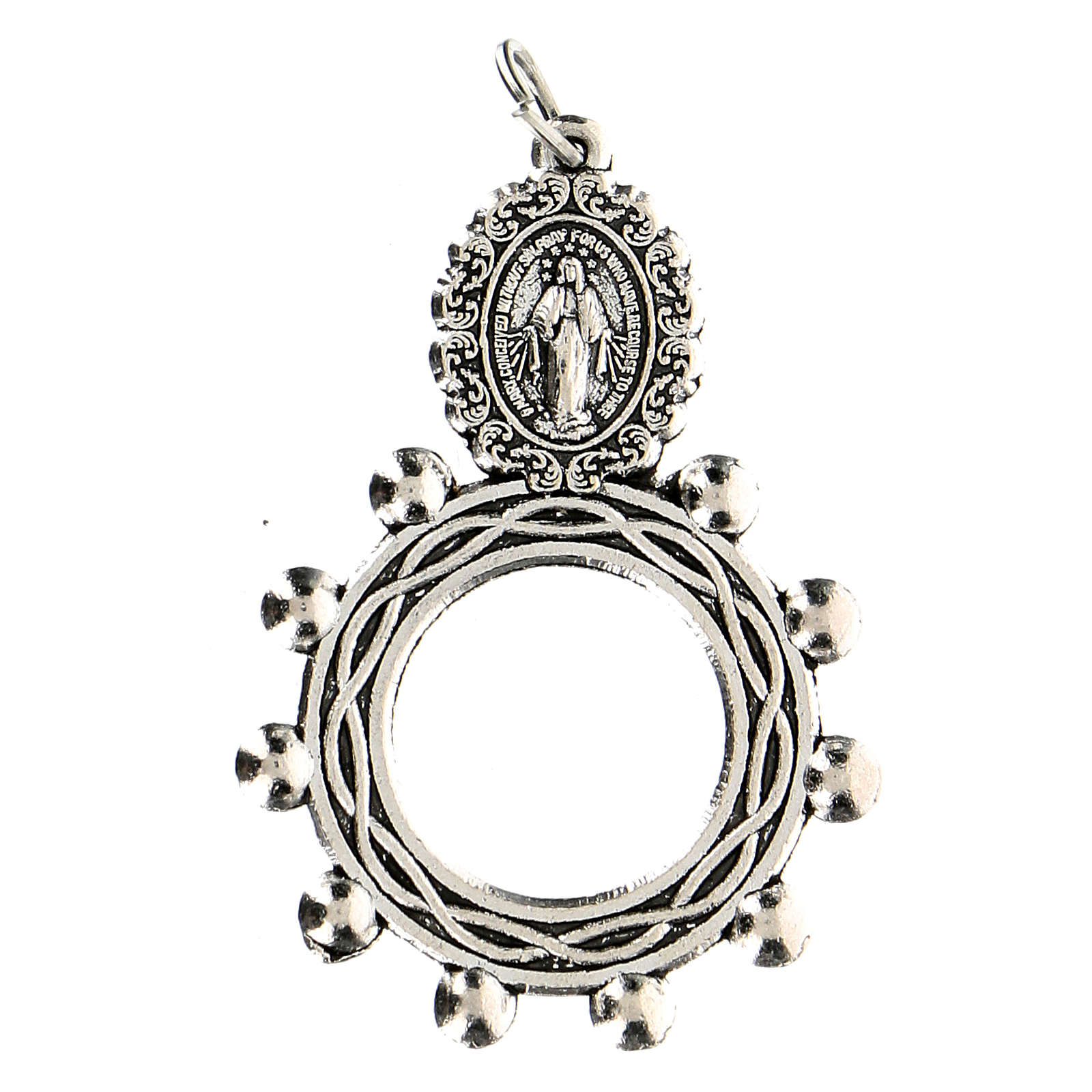Ciondolo Madonna Misericordiosa 3 cm 4