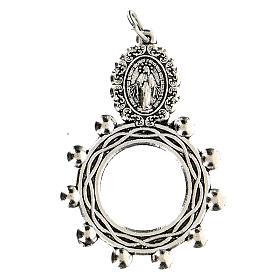 Ciondolo Madonna Misericordiosa 3 cm s1