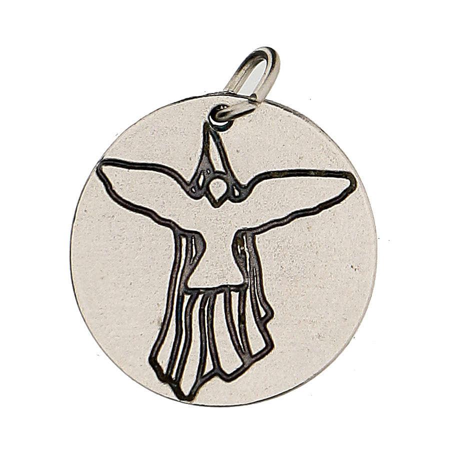 Medalla Confirmación con Paloma del Espíritu Santo 1,5 cm 4